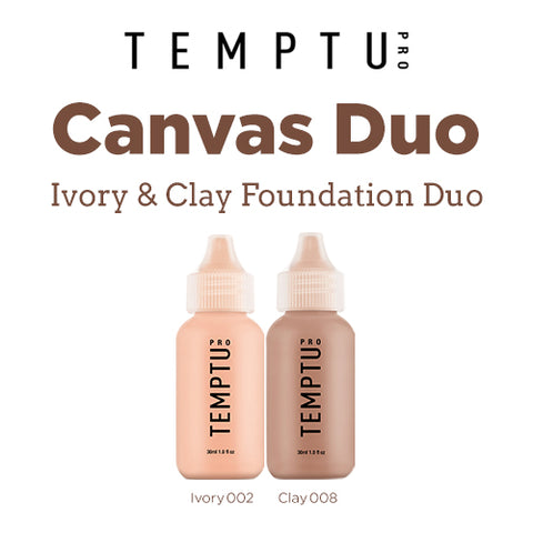 Temptu Ivory & Clay Foundation Duo