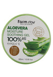 Farmstay 100% Aloe Moisture Soothing Gel 300ml