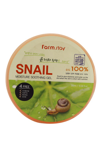 Farmstay 100% Snail Moisture Soothing Gel 300ml