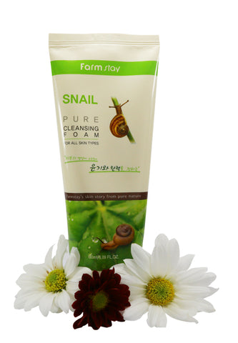 Farmstay Snail Pure Cleansing Foam 180ml