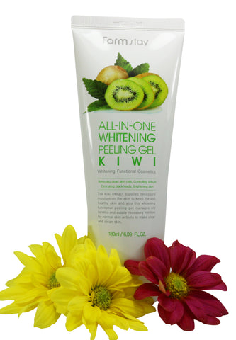Farmstay Whitening Peeling Gel 180ml - Kiwi