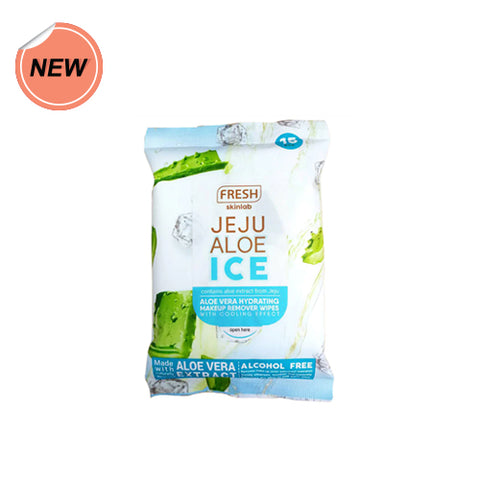 Fresh Jeju Aloe Ice Make Up Wipes