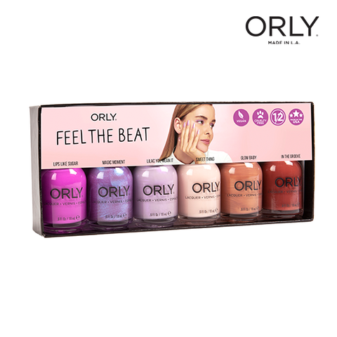 Orly Nail Lacquer Feel the Beat 6pix