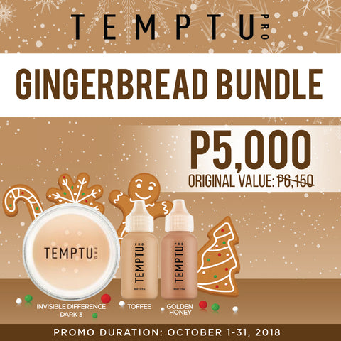 Temptu Gingerbread Bundle