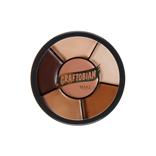 Graftobian Rubber Mask Grease Derma Wheel