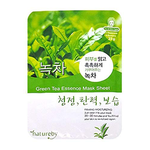 Natureby Facial Mask Green Tea 23G
