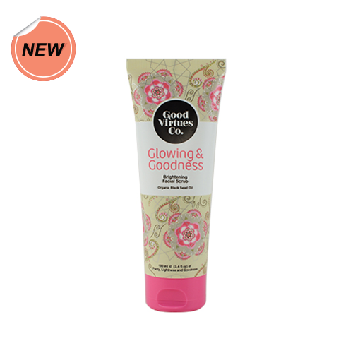 Good Virtues Co Brightening Facial Scrub 100ml