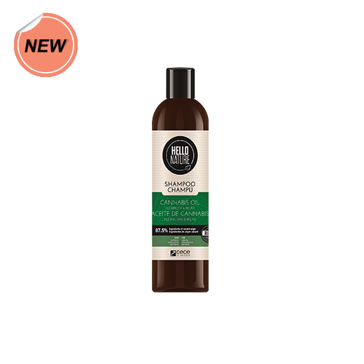 Hello Nature Cannabis Oil Shampoo 300ml