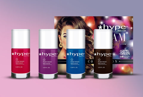 Hype Nail Enamel Glam at Night 4 pix