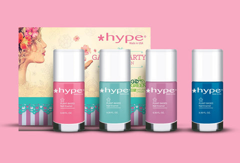 Hype Nail Enamel Garden Party Collection 4 Pix