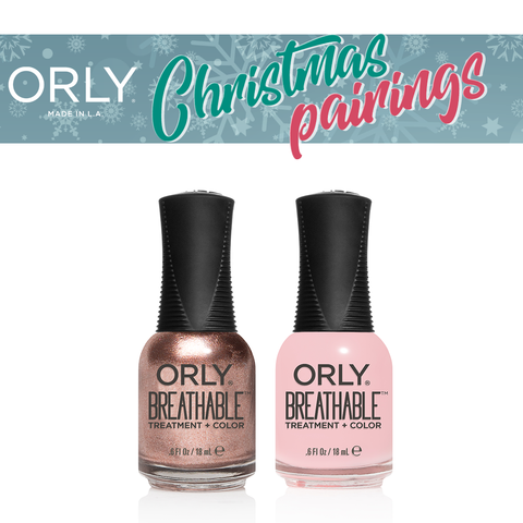 Orly Christmas Pairing Breathable – Fairy God Mother + Kiss me I`m Kind