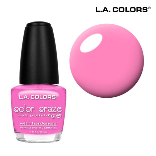 L.A. Colors Color Craze Gel Pink Bubble