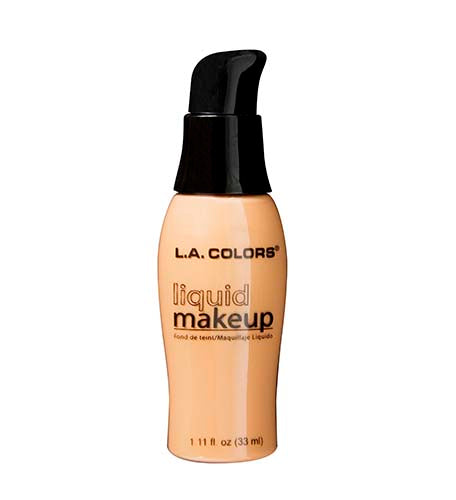 L.A. Colors Pump Liquid Makeup - Creamy Beige