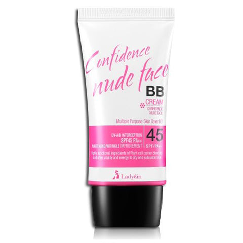 Ladykin Confidence Nude Face BB Cream SPF45 No. 1 Pink Beige