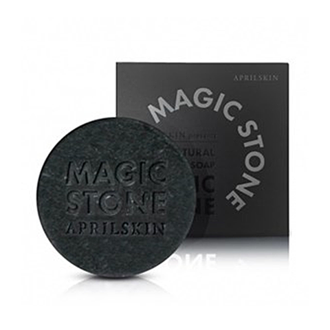 Aprilskin Magic Stone Soap Black
