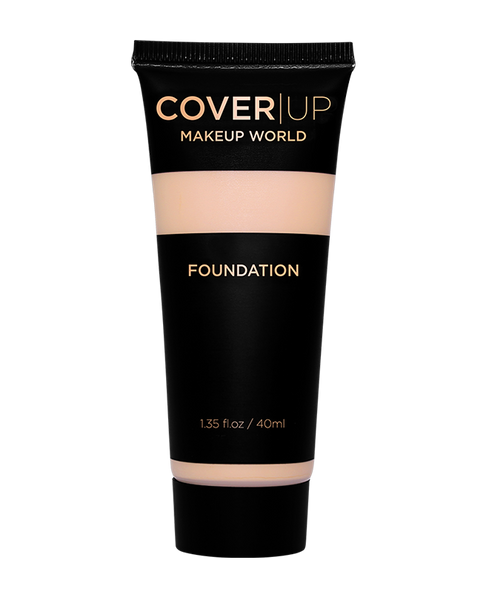 MakeUp World Foundation Ivory