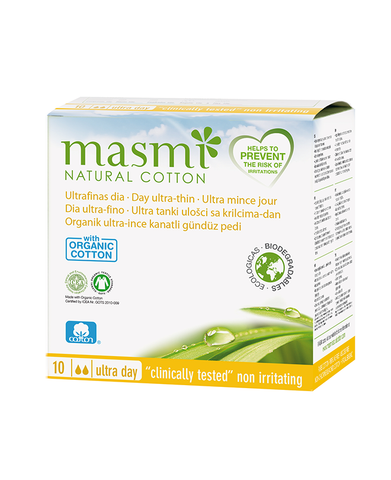 MASMI Ultrathin Sanitary Pads with Wings - DAY (10pcs)