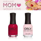 Orly Color Favorites - Haute Red + Kiss the Bride