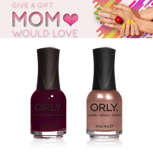 Orly Color Favorites - Naughty + Sand Castle