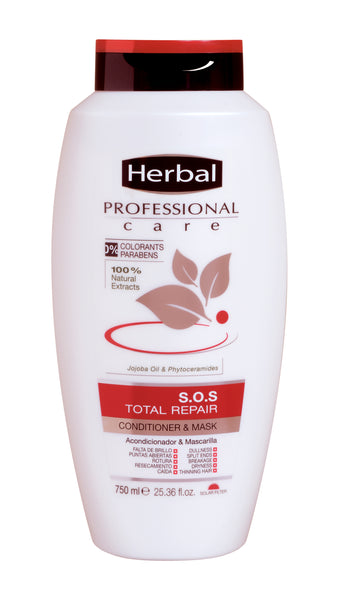 Herbal Total Repair Conditioner and Mask 750ml