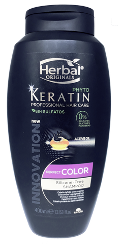 Herbal Phyto Keratin Color Shampoo 400ml