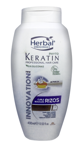 Herbal Phyto Keratin Rizos Express Mask 400ml