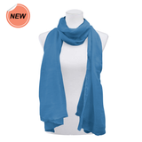 Purejoy Essentials Blue Scarf