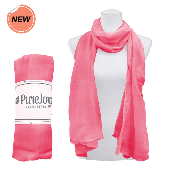 Purejoy Essentials Pink Scarf