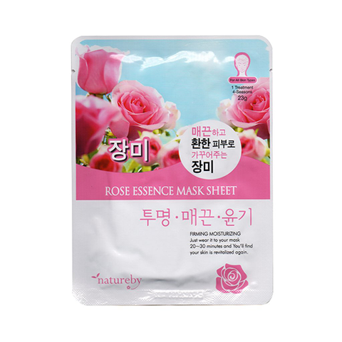 Natureby Facial Mask Rose 23g