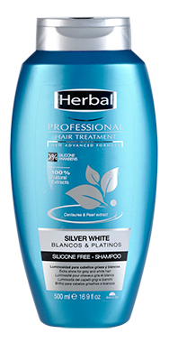 Herbal Silver White Shampoo 500ml