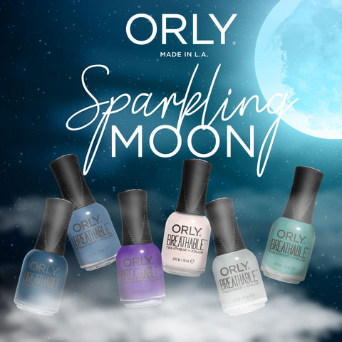 Orly Breathable Nail Lacquer Sparkling Moon Bundle