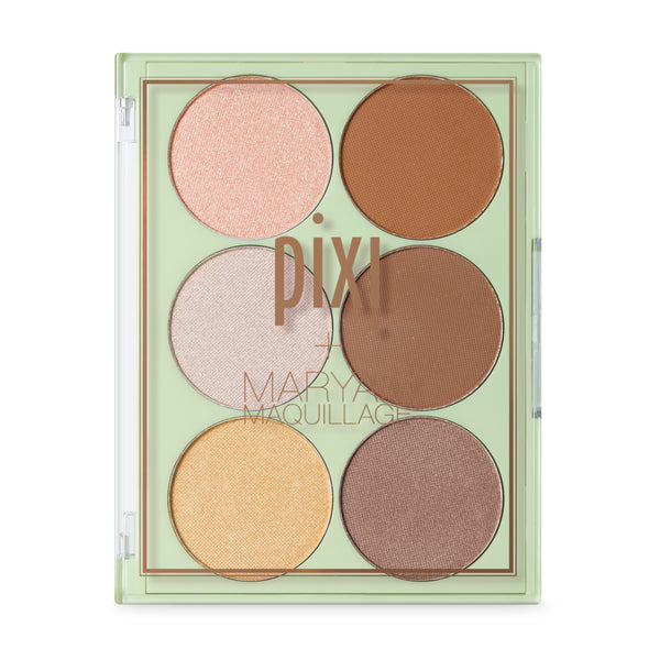 Pixi Strobe and Bronze Palette Glow and Bronze