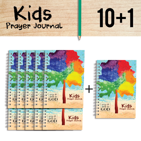 Purebeauty Kids Prayer Journal 10+1