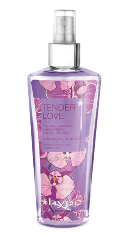 Hype Moisturizing Body Mist 236ml - Tender Love