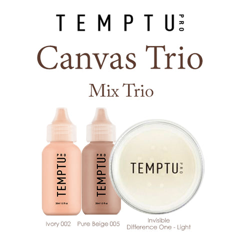 Temptu Canvas Trio