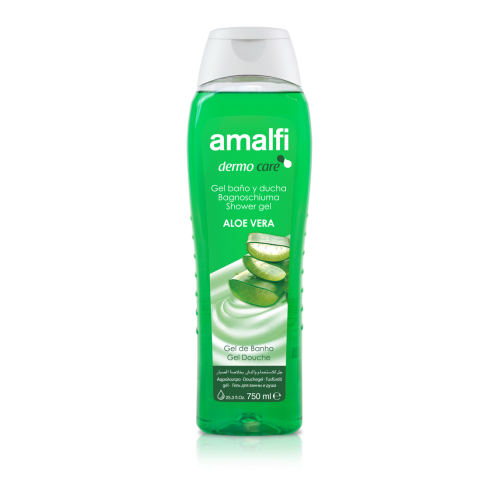 Amalfi Bath and Shower Gel Aloe Vera 750 ml