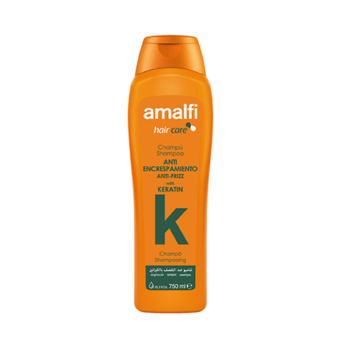 Amalfi Shampoo Keratin Anti-Frizz 750 ml