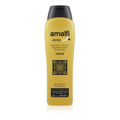 Amalfi Bath and Shower Gel Argan 750 ml