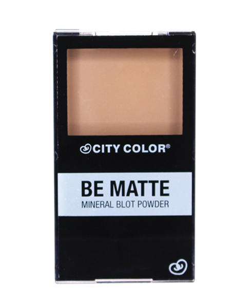 City Color Be Matte Mineral Blot Powder Translucent