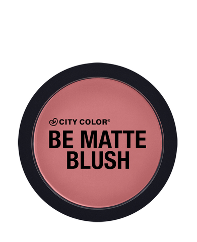 City Color Be Matte Blush Blackberry