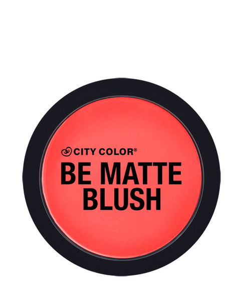 City Color Be Matte Blush Blood Orange