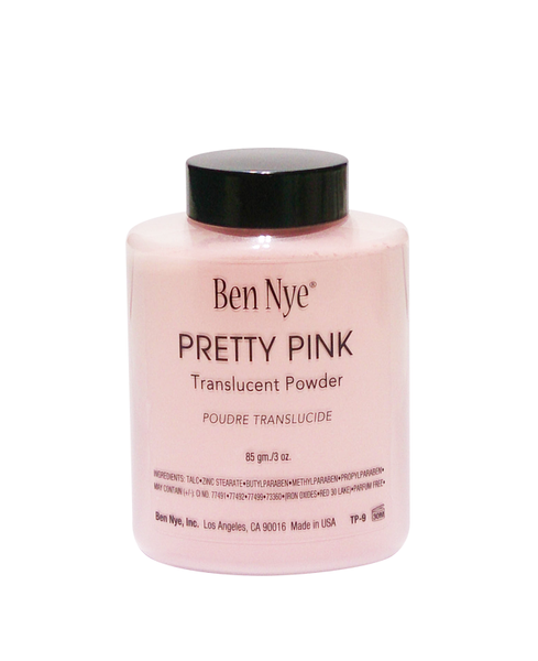 Ben Nye Translucent Powder Pretty Pink 3oz