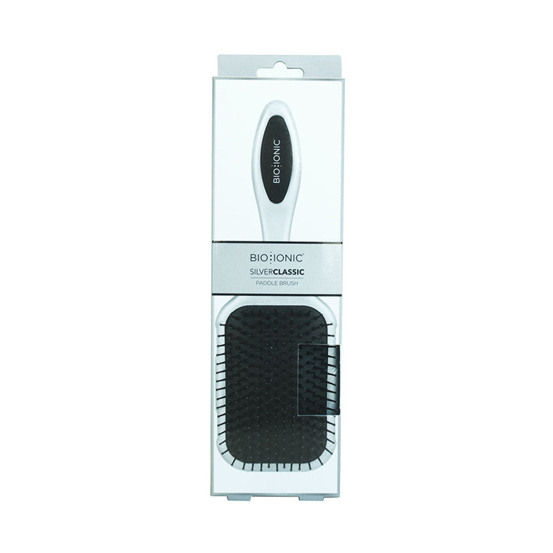 Bioionic Silver Classic Paddle Brush