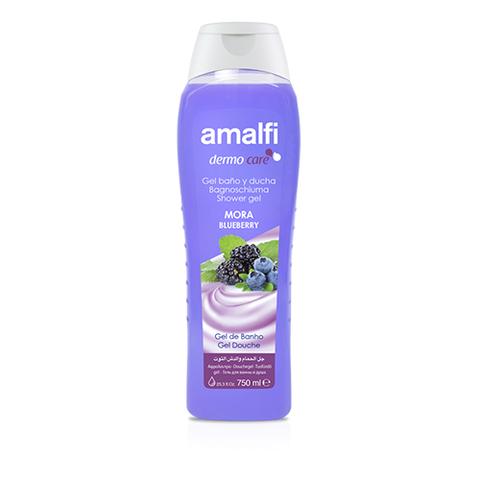 Amalfi Bath and Shower Gel Mora Blueberry 750 ml