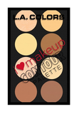 L.A. Colors I Heart Make Up Contour Palette Light/Medium