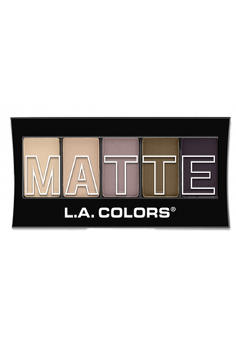 L.A. Colors Matte Eyeshadow Natural Linen