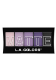 L.A. Colors Matte Eyeshadow Purple Cashmere