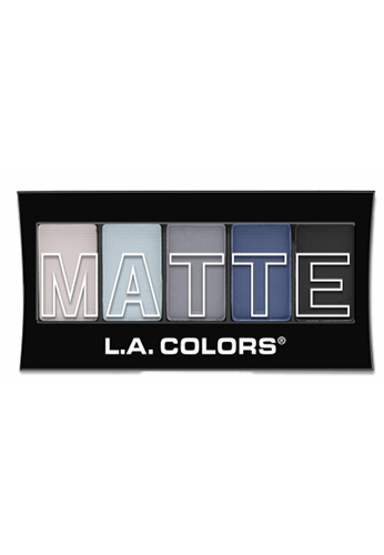 L.A. Colors Matte Eyeshadow Blue Denim