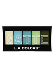 L.A. Colors Matte Eyeshadow Teal Argyle