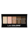 L.A. Colors Matte Eyeshadow Tan Khaki